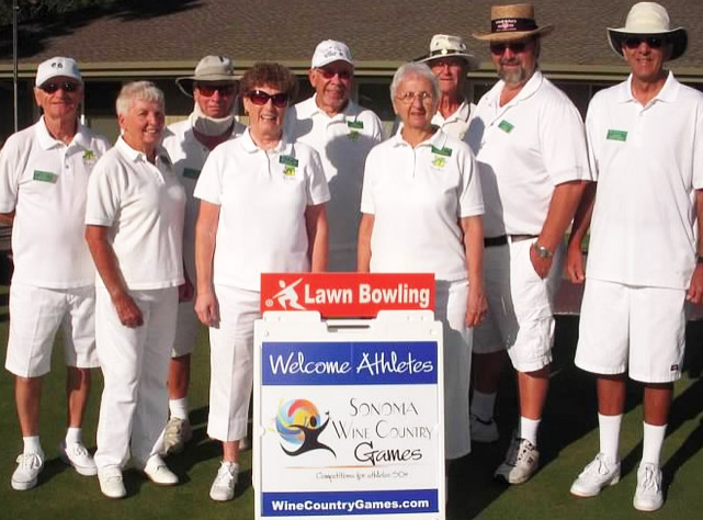 Fresno Lawn bowling team travel squad