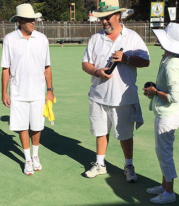 lawn bowling tournament in central california